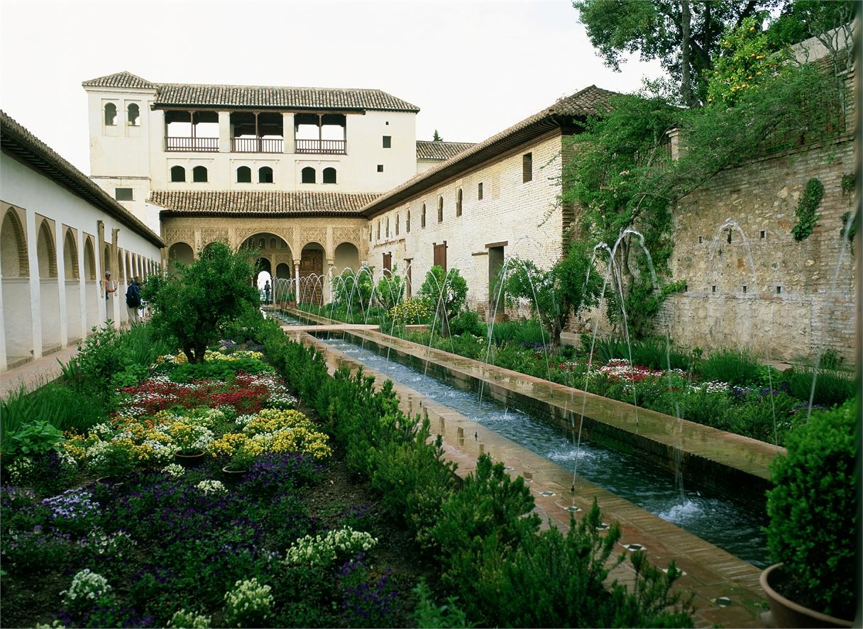 Visita guiada a la alhambra y el generalife for Jardines generalife
