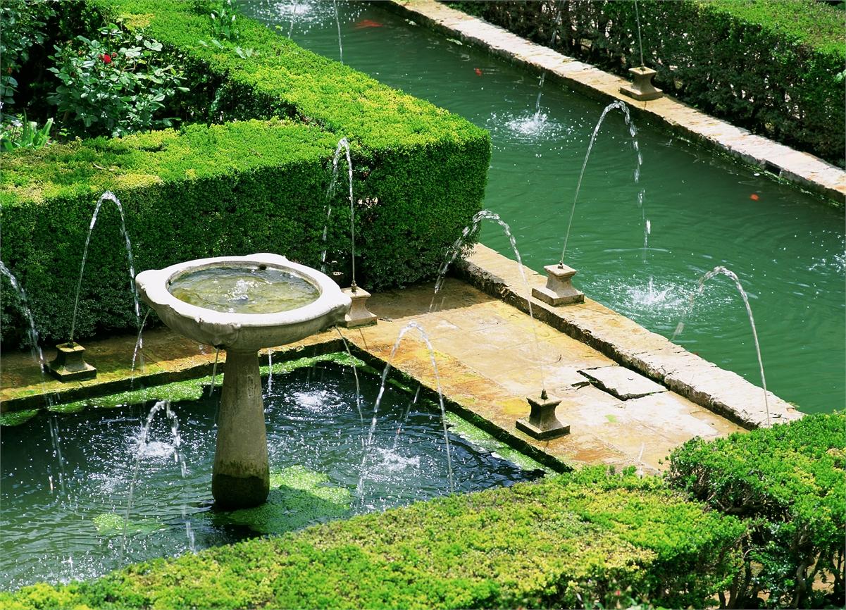 Visita guiada a la alhambra y el generalife for Jardines nazaries